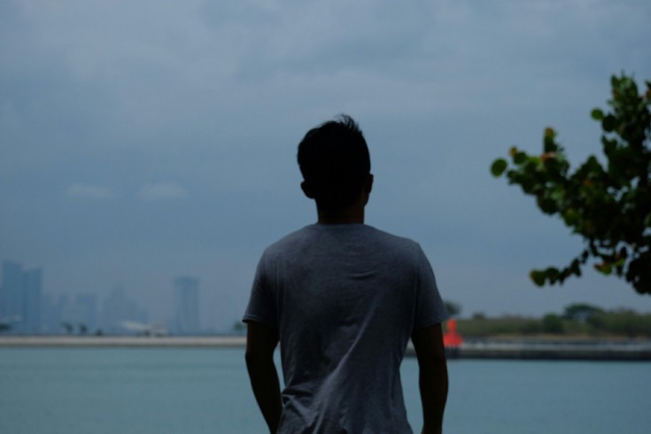 View of Singapore from St John