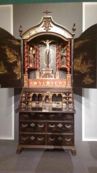 Hidden worship altar in China