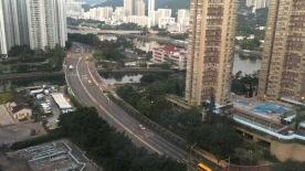 View of Shatin area from Courtyard Shatin, Hong Kong