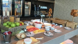 Executive Lounge - Breakfast spread