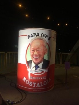 Public display of Pop Art