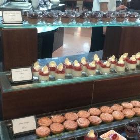 Various dessert mousse