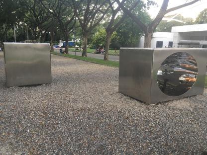 Outdoor art - Dhoby Ghaut Green 8A