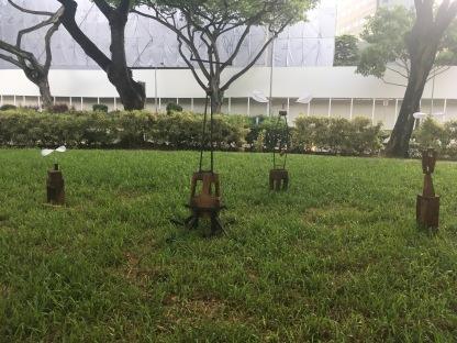 Outdoor art - Dhoby Ghaut Green 11