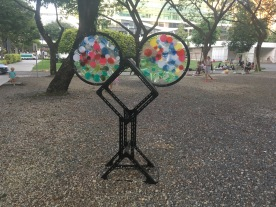 Outdoor art - Dhoby Ghaut Green 2