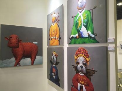 Artworks by Wang ZhiWu