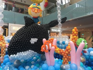 Sea of Wonder Exhibition at Marina Square