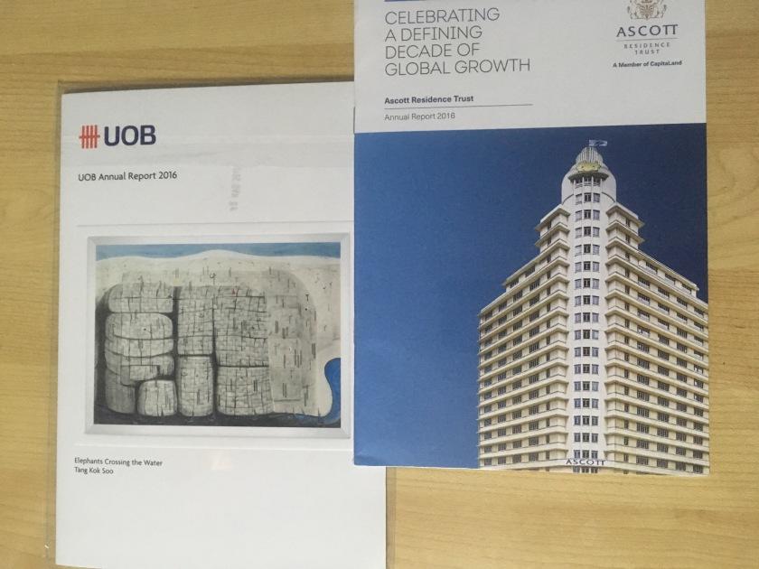 Ascott Reit & UOB Annual Report 2016