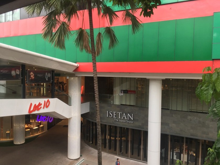 Isetan - the Japan Store @ Lot 10, KL Malaysia