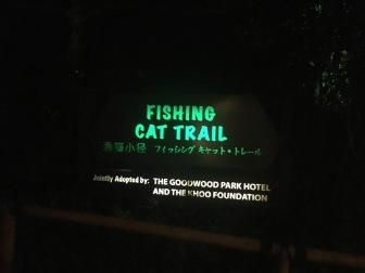 Fishing Cat Trail, Night Safari