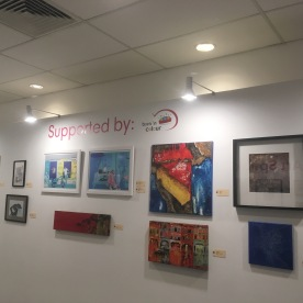 Affordable Art Fair Singapore - Spring 2017, Charity Feature Wall - Let Art Speak