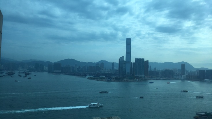 Hong Kong - view from ibis HK Central and Sheung Wan