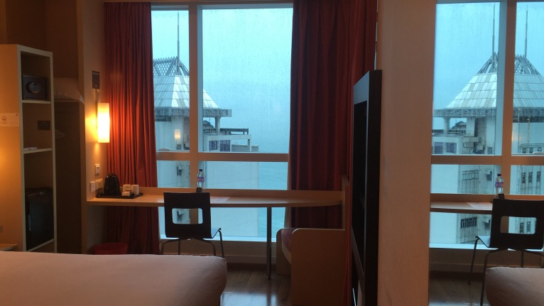 ibis Hk and Sheung Wan - Standard 1 Double Bed Harbour View