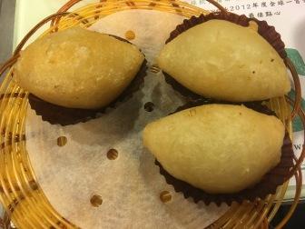 Deep Fried Dumpling with Wasabi