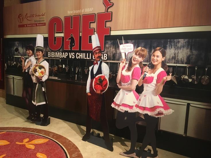 Chef Bibimbap vs Chili Crab