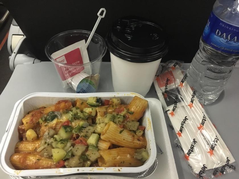 Jetstar in-flight meal