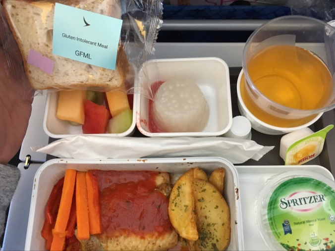 Gluten Intolerant Meal - Brunch (Cathay Pacific)
