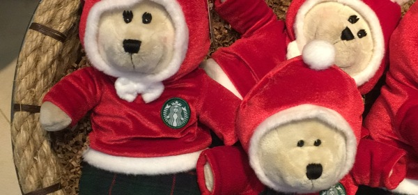 Starbucks Bearista Xmas